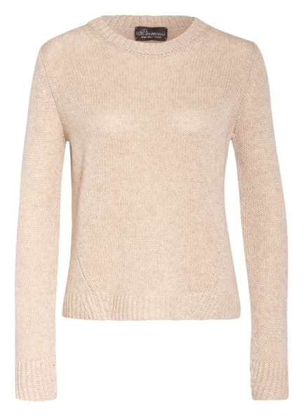 Princess GOES HOLLYWOOD Pullover mit Cashmere, Farbe: BEIGE (Bild 1)