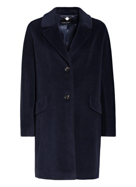 MARCCAIN Mantel mit Alpaka, Farbe: 395 MIDNIGHT BLUE (Bild 1)