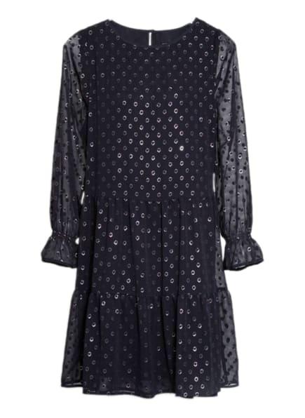 MARCCAIN Kleid mit Volants, Farbe: DUNKELBLAU (Bild 1)