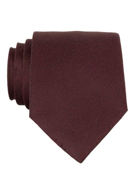 strellson Krawatte, Farbe: DUNKELROT (Bild 1)