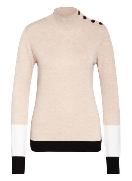 summum woman Pullover, Farbe: TAUPE/ WEISS/ SCHWARZ (Bild 1)