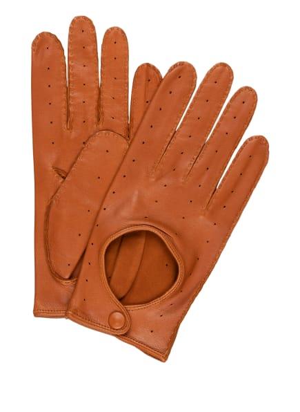 tr HANDSCHUHE WIEN Lederhandschuhe, Farbe: COGNAC (Bild 1)