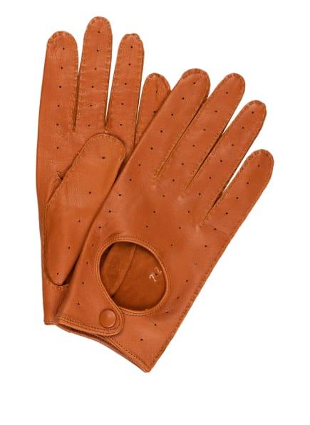 TR HANDSCHUHE WIEN Lederhandschuhe , Farbe: BRAUN (Bild 1)