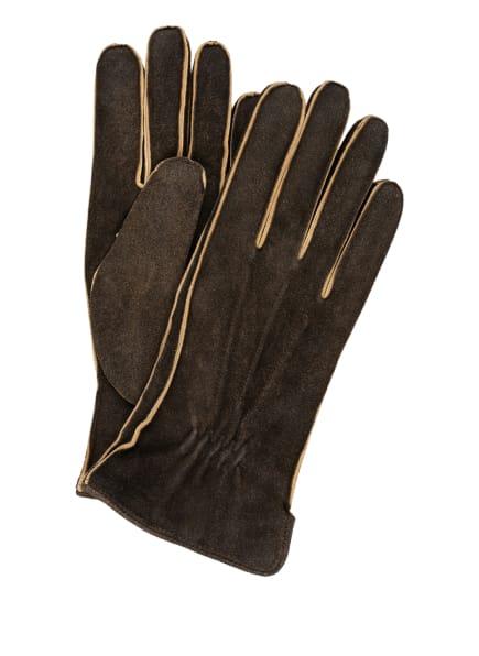 tr HANDSCHUHE WIEN Lederhandschuhe , Farbe: DUNKELBRAUN (Bild 1)