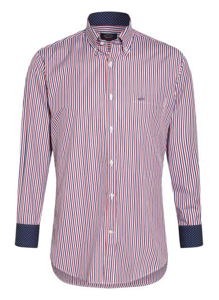 PAUL & SHARK Hemd Regular Fit , Farbe: WEISS/ BLAU/ ROT (Bild 1)