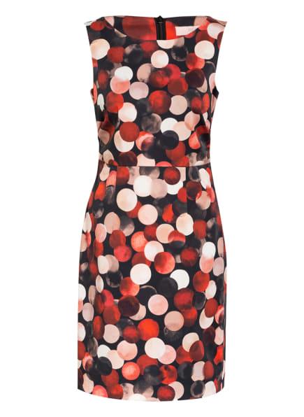 BETTY&CO Kleid, Farbe: SCHWARZ/ ROT/ ROSÉ (Bild 1)