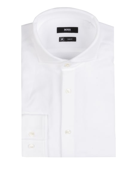 BOSS Jerseyhemd JASON Slim Fit , Farbe: WEISS (Bild 1)