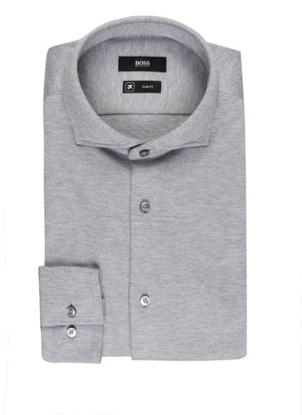 BOSS Jerseyhemd JASON Slim Fit , Farbe: GRAU (Bild 1)