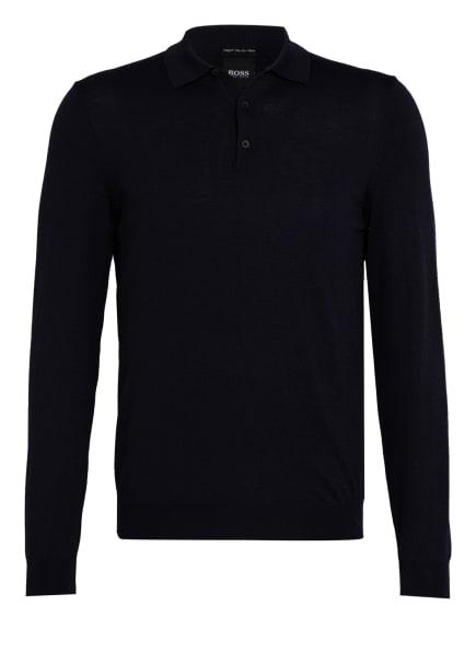 BOSS Pullover BONO mit Polokragen, Farbe: DUNKELBLAU (Bild 1)