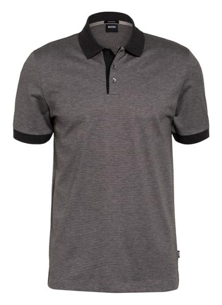 BOSS Jersey-Poloshirt PIKET, Farbe: GRAU/ DUNKELGRAU (Bild 1)