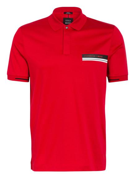 BOSS Poloshirt PHILLIPSON Slim Fit, Farbe: ROT (Bild 1)