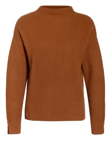 FTC CASHMERE Cashmere-Pullover, Farbe: COGNAC (Bild 1)