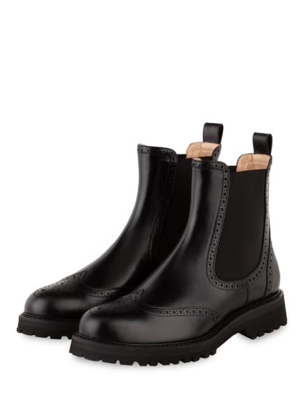 UNÜTZER Chelsea-Boots, Farbe: SCHWARZ (Bild 1)