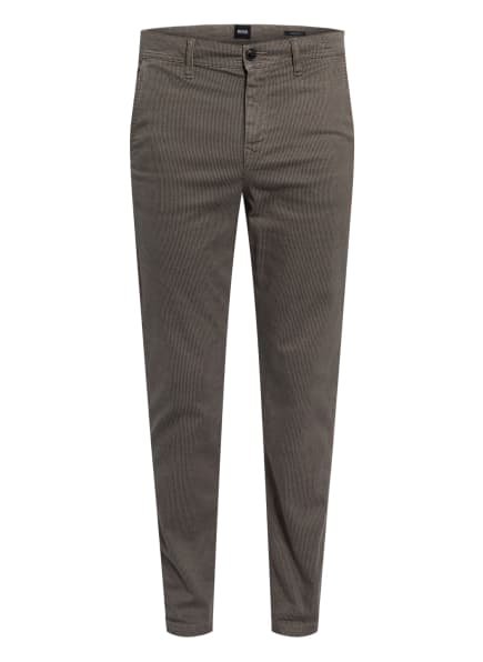 BOSS Chino TABER Tapered Fit, Farbe: TAUPE/ SCHWARZ (Bild 1)