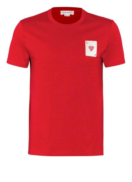 ALEXANDER McQUEEN T-Shirt, Farbe: ROT (Bild 1)
