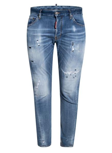 DSQUARED2 Destroyed Jeans SEXY TWIST Slim Fit, Farbe: 470 BLUE (Bild 1)