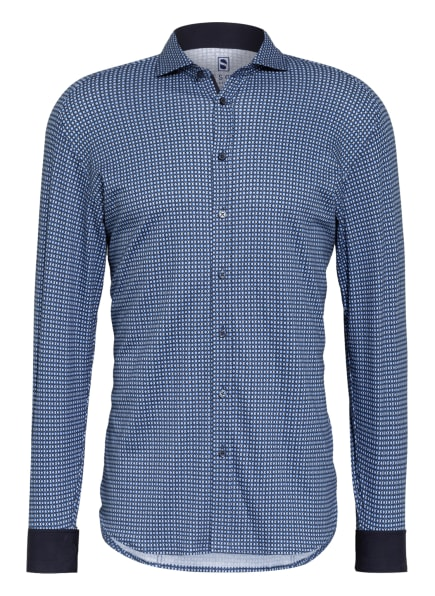 DESOTO Jerseyhemd Slim Fit , Farbe: BLAU/ HELLBLAU/ WEISS (Bild 1)