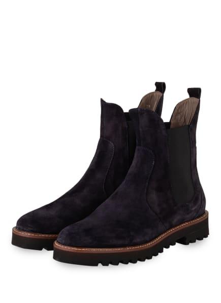 VIAMERCANTI Chelsea-Boots AUSILIA, Farbe: DUNKELBLAU (Bild 1)