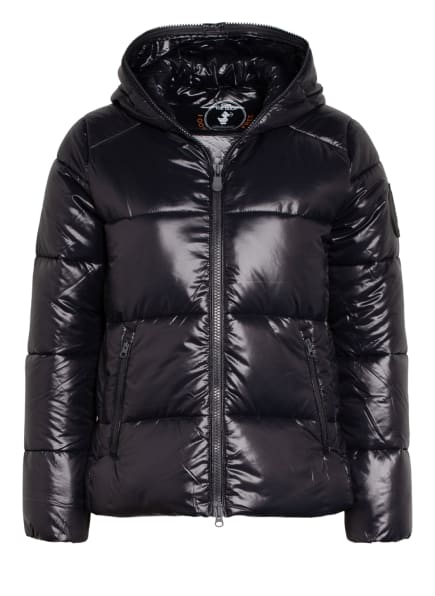 SAVE THE DUCK Steppjacke LUCK, Farbe: SCHWARZ (Bild 1)