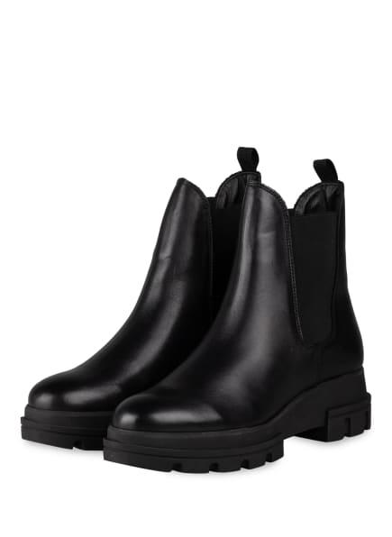Dune London Chelsea-Boots, Farbe: SCHWARZ (Bild 1)