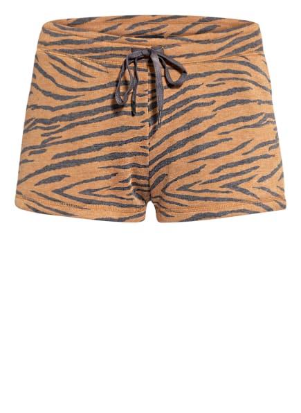 P.J.Salvage Lounge-Shorts , Farbe: BRAUN MELIERT/ GRAU MELIERT (Bild 1)