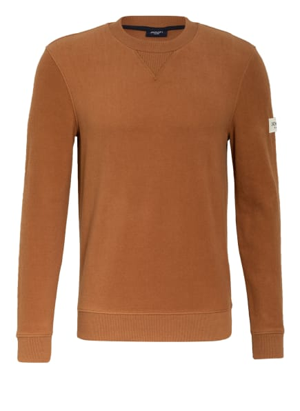 JOOP! JEANS Fleece-Sweatshirt ARTHUR, Farbe: COGNAC (Bild 1)