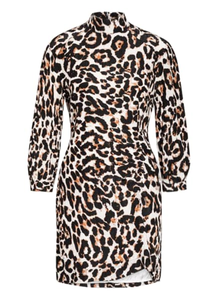 BAUM UND PFERDGARTEN Kleid AALIAH, Farbe: CREME/ SCHWARZ/ BRAUN (Bild 1)