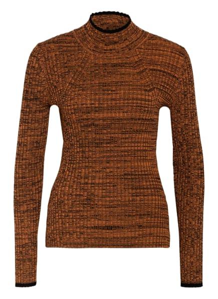 BAUM UND PFERDGARTEN Pullover COLAINE, Farbe: COGNAC/ SCHWARZ (Bild 1)