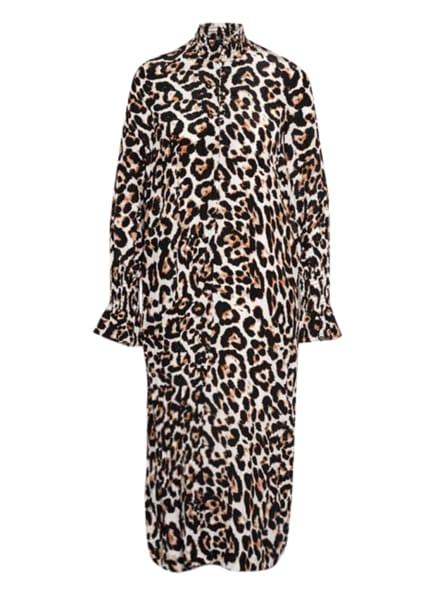 BAUM UND PFERDGARTEN Kleid AEVERIE, Farbe: CREME/ SCHWARZ/ BRAUN (Bild 1)