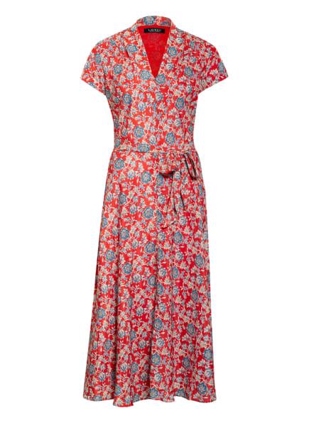 LAUREN RALPH LAUREN Kleid, Farbe: ROT/ BLAU (Bild 1)
