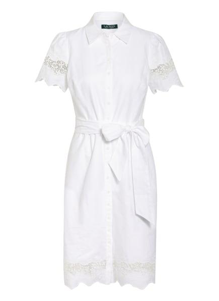 LAUREN RALPH LAUREN Hemdblusenkleid , Farbe: WEISS (Bild 1)