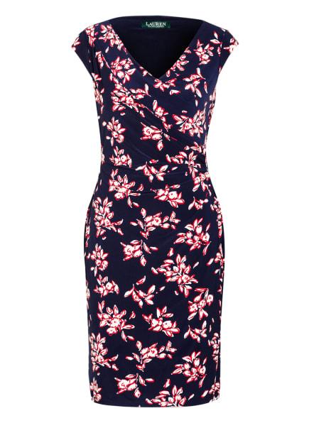 LAUREN RALPH LAUREN Kleid , Farbe: DUNKELBLAU/ WEISS/ ROT (Bild 1)