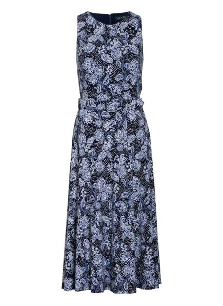 LAUREN RALPH LAUREN Kleid, Farbe: DUNKELBLAU/ BLAU/ WEISS (Bild 1)