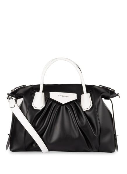 GIVENCHY Handtasche ANTIGONA SOFT MEDIUM, Farbe: SCHWARZ/ WEISS (Bild 1)