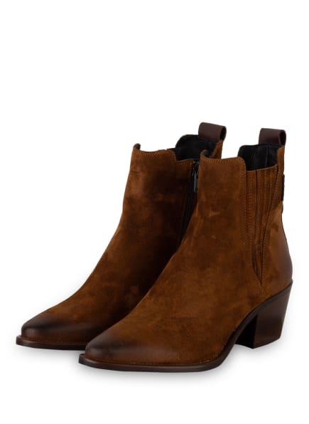 DONNA CAROLINA Chelsea-Boots, Farbe: BRAUN (Bild 1)