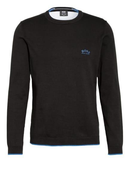 BOSS Pullover RISTON , Farbe: SCHWARZ (Bild 1)