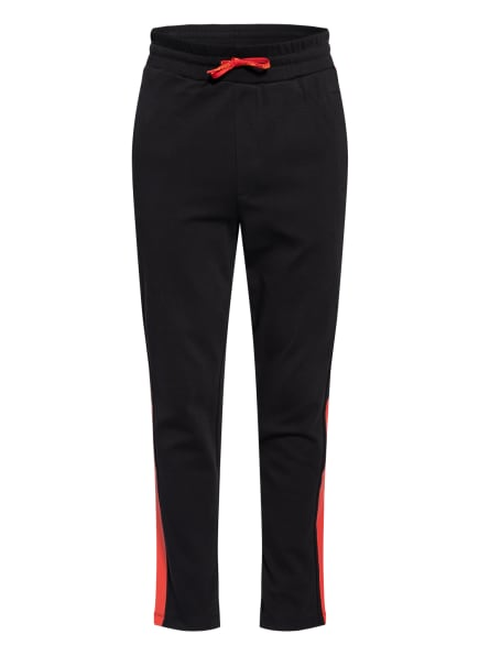 HUGO Sweatpants DEELY, Farbe: SCHWARZ/ ROT (Bild 1)