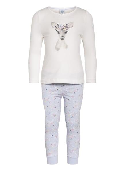 Sanetta Schlafanzug , Farbe: HELLBLAU/ ECRU (Bild 1)