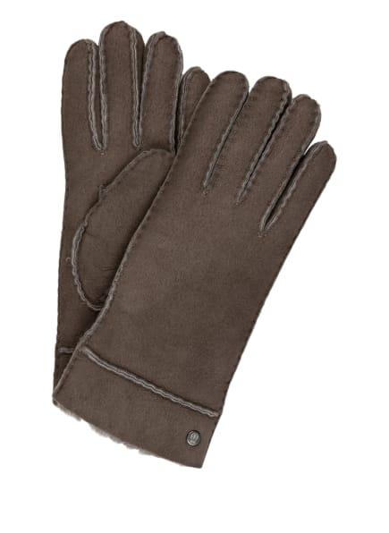 ROECKL Handschuhe HELSINKI aus Lammfell , Farbe: GRAU (Bild 1)