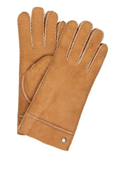 ROECKL Handschuhe HELSINKI aus Lammfell , Farbe: CAMEL (Bild 1)