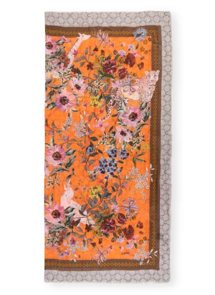 CODELLO Tuch, Farbe: ORANGE/ ROSA/ HELLGRAU (Bild 1)