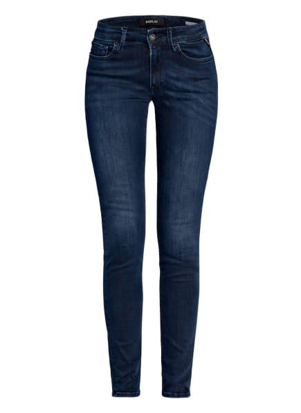 REPLAY Skinny Jeans NEW LUZ, Farbe: 007 DARK BLUE (Bild 1)