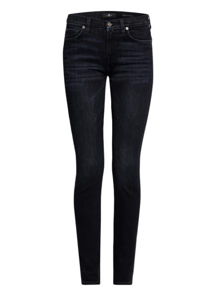 7 for all mankind 7/8-Jeans THE SKINNY , Farbe: SLIM ILLUSION WISHLIST BLACK (Bild 1)