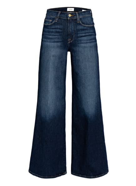 FRAME DENIM Flared Jeans LE PALAZZO, Farbe: ALSD ALLESANDRO BLUE (Bild 1)