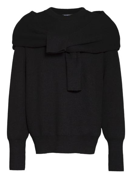 BALENCIAGA Oversized-Pullover, Farbe: SCHWARZ (Bild 1)