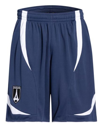BALENCIAGA Shorts SOCCER, Farbe: BLAU/ WEISS (Bild 1)