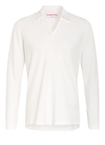 ORLEBAR BROWN Piqué-Poloshirt FELIX, Farbe: WEISS (Bild 1)