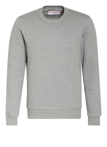 ORLEBAR BROWN Sweatshirt PIERCE BRUSHED LUX, Farbe: GRAU (Bild 1)