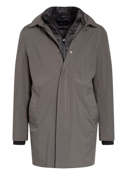 HACKETT LONDON 3-in-1-Jacke mit abnehmbarer Kapuze, Farbe: TAUPE (Bild 1)