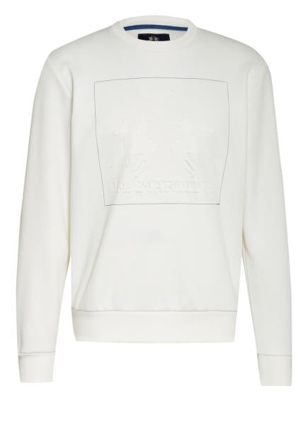 LA MARTINA Sweatshirt , Farbe: 00002 OFF WHITE (Bild 1)